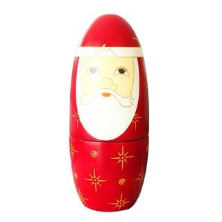 Santa Claus Christmas Figurine Napkin Case