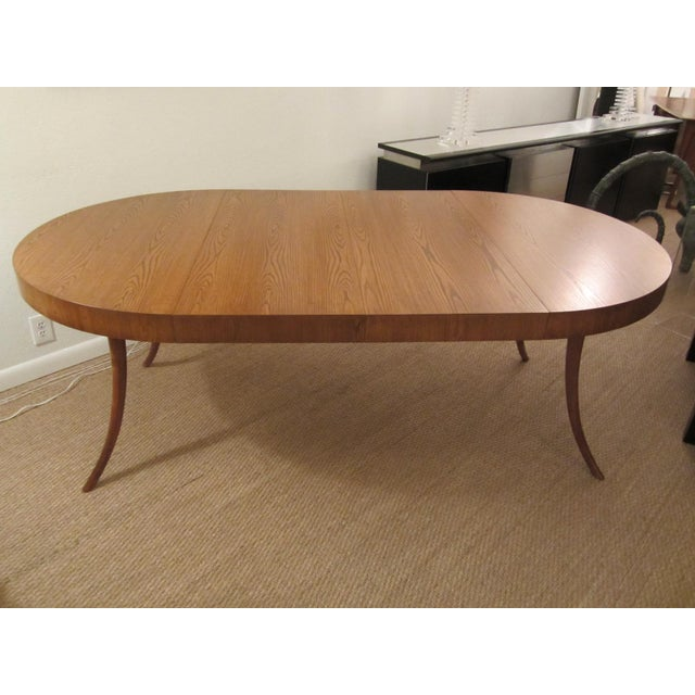 Robsjohn-Gibbings Walnut Extension Dining Table - Image 2 of 7