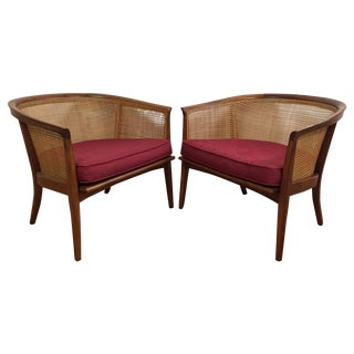 MCM Milo Baughman Lounge Chairs - A Pair