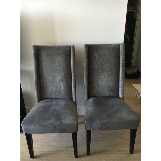 West Elm Willoughby Dining Chairs A Pair Chairish