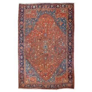 19th Century Persian Heriz Carpet