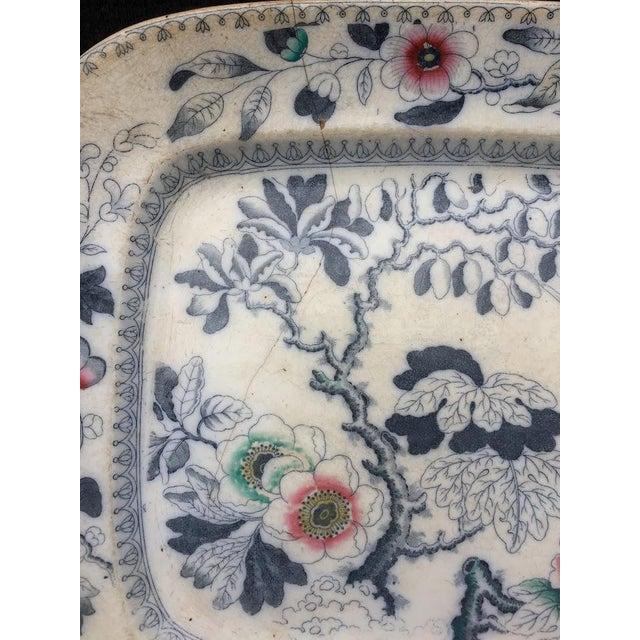 1870s Ashworth Ironstone Platter - Image 5 of 9