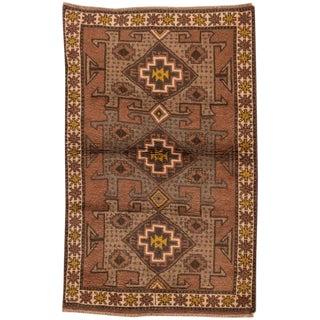 """Apadana - Persian Shiraz Rug, 3'9"""" x 6'"""
