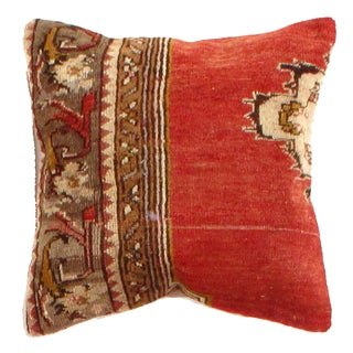 Vintage Pasargad Hand Knotted Rug Pillow