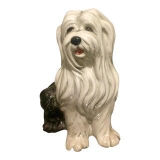 Mid-Century Italian Ceramic Sheepdog