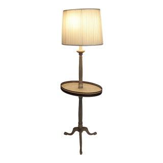 French Regency Gueridon Table Floor Lamp