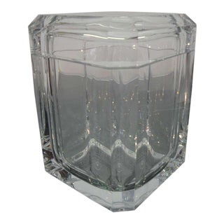 Gorgeous Hollywood Regency Lucite Ice Bucket