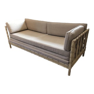 French Style Faux Bamboo Daybed