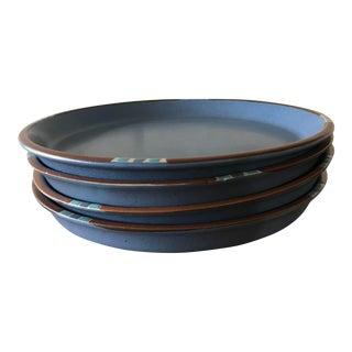 Dansk Mesa Blue Dinner Plates - Set of 4