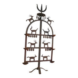 Indian Temple Style Candle Holder