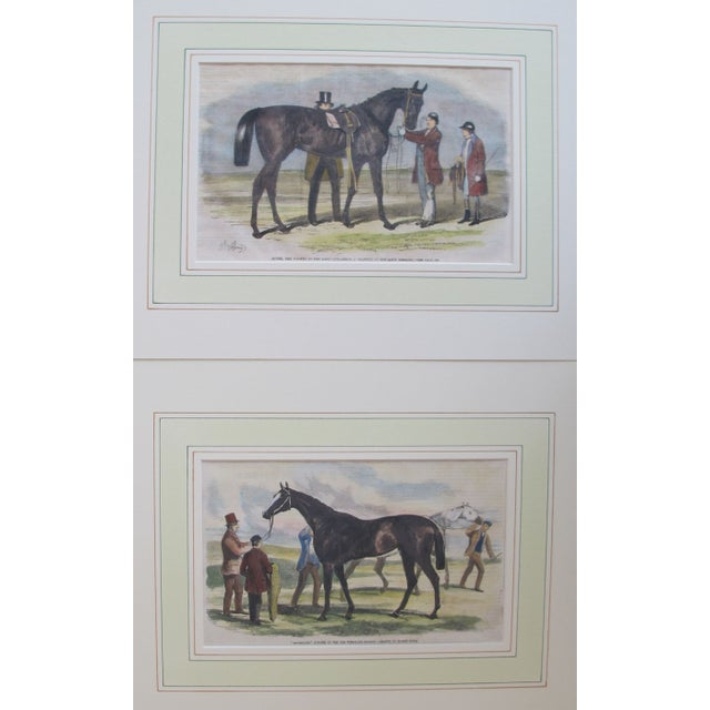 1860s Original British Equestrian Prints - Pair - Image 1 of 4