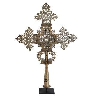 Silver Ethiopian Coptic Cross