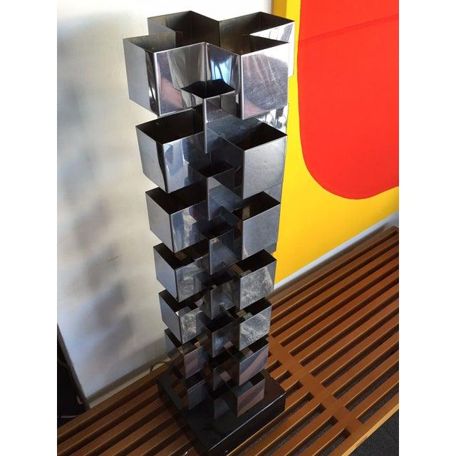 Curtis Jere Skyscraper Lamp - Image 2 of 3