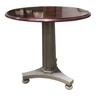 Hickory Chair Angus Column Center Table Showroom Sample