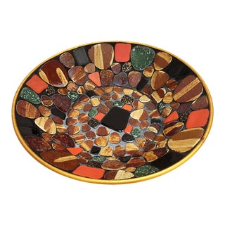 Mid-Century Mosaic Bowl