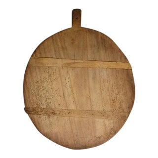 Round English Bread Board