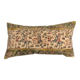 Antique Hand Blocked Textile Pillow
