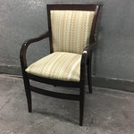 Image of Hickory Geometric Upholstered Sticking Chair