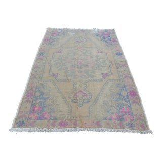 "Decorative Vintage Oushak Rug - 55"" x 86"""