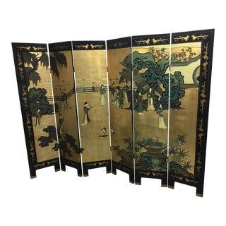 Six Panel Chinese Screen