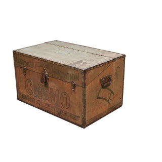 Cremo Metal Cigar Trunk/Humidor