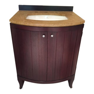 Barbara Barry Kallista Wood Vanity