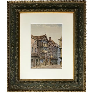 19th Century English Watercolor Painting