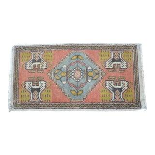 Turkish Decorative Small Rug - 1′8″ × 3′3″