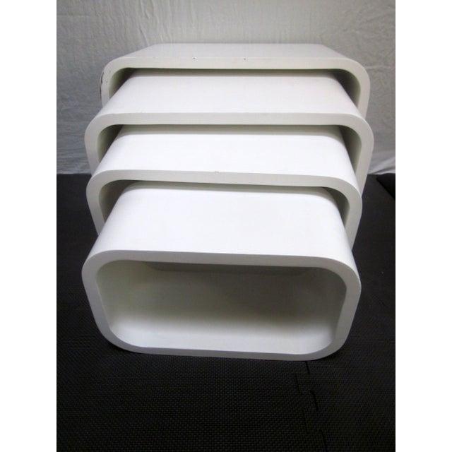 Modernist Display Nesting Tables - Image 4 of 8