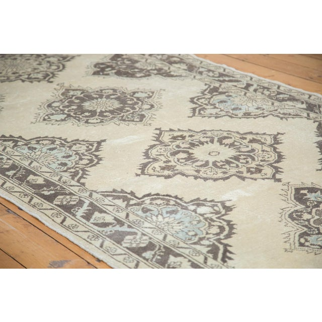 "Distressed Oushak Runner - 5' X 12'10"" - Image 3 of 10"