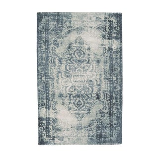 West Elm Distressed Wool Rug - 6' x 9'