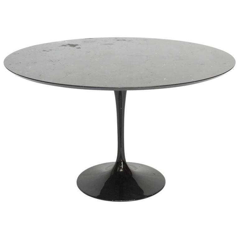 Eero Saarinen Style Black Marble Tulip Dining Table Chairish : eero saarinen style black marble tulip dining table 7762aspectfitampwidth640ampheight640 from www.chairish.com size 640 x 640 jpeg 16kB