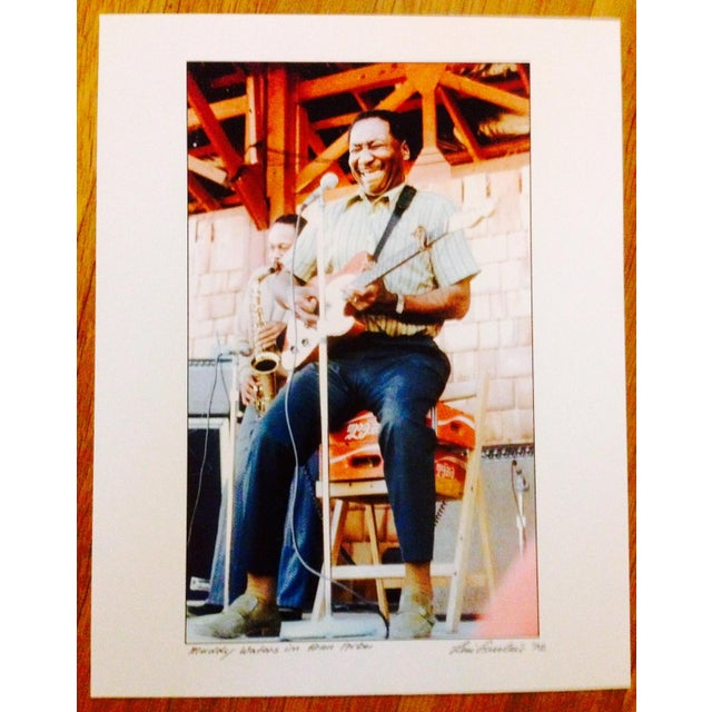 Original Muddy Waters Signed Photograph - Image 2 of 3