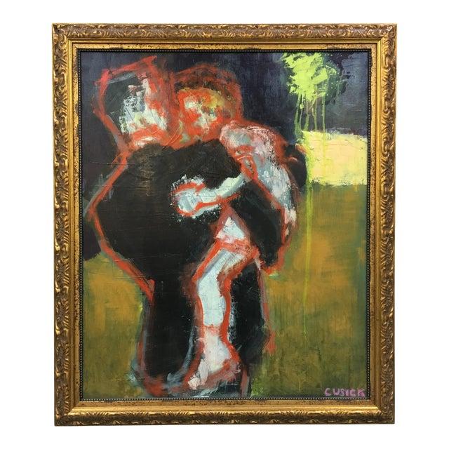 "Cusick ""At the Wedding"" Original Painting - Image 1 of 5"