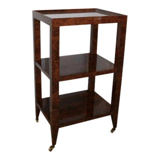Bungalow 5 Isadora Walnut 3 Tier Side Table