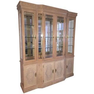 Drexel Heritage Lit Display Cabinet