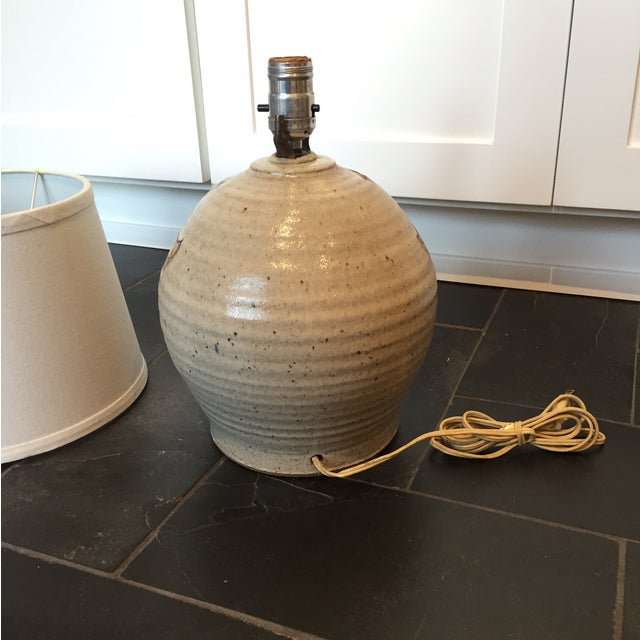 Vintage Studio Pottery Sun Lamp - Image 6 of 7