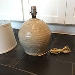 Image of Vintage Studio Pottery Sun Lamp
