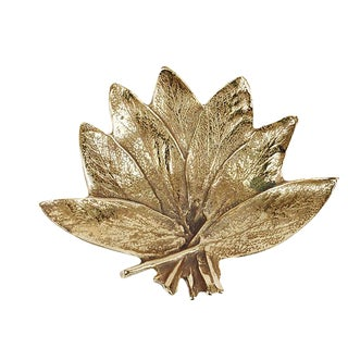 Brass Virginia Metalcrafters Sage Leaf