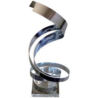 Dan Murphy Aluminum Ribbon Kinetic Sculpture