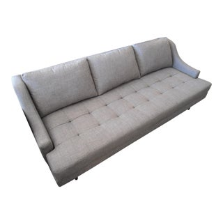 Stem Meera Slope Arm Sofa in Bennet Praline Gray