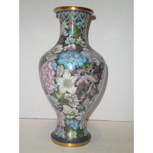 Large Cloisonne Vase - Image 2 of 7