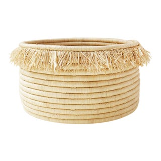 Frieda Floor Sweetgrass Basket