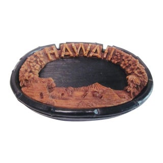 Lava Wood Ashtray Dish - Tiki Bar Hawai