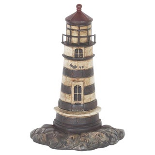 Antique Cast Iron Lighthouse Door Stop