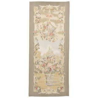 "Chinese Aubusson Tapestry - 2'6""x 5'"