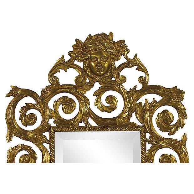 Baroque-Style Girandole Mirrors - A Pair - Image 3 of 4