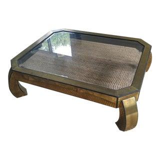 Mastercraft Brass Ming Coffee Table