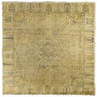 Anatolian Kaiserie Silk Square Rug