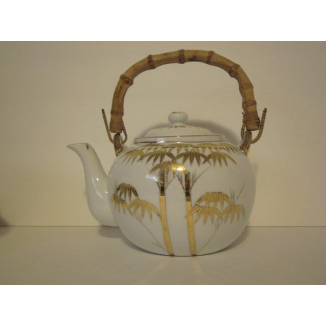 Image of 1940's Japanese Lithophane Tea Set